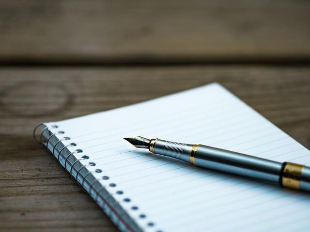 Ziele aufschreiben